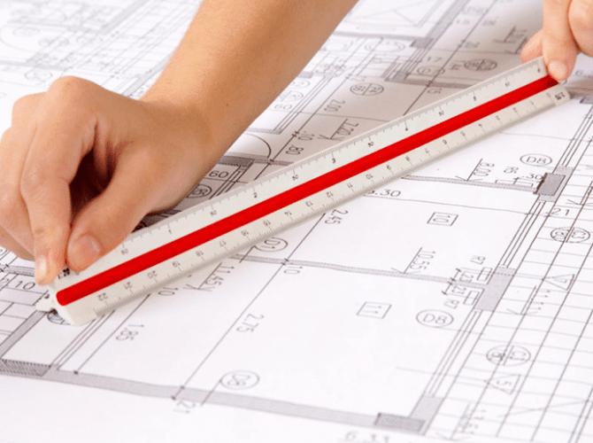Escalas de Projetos Arquitetônicos