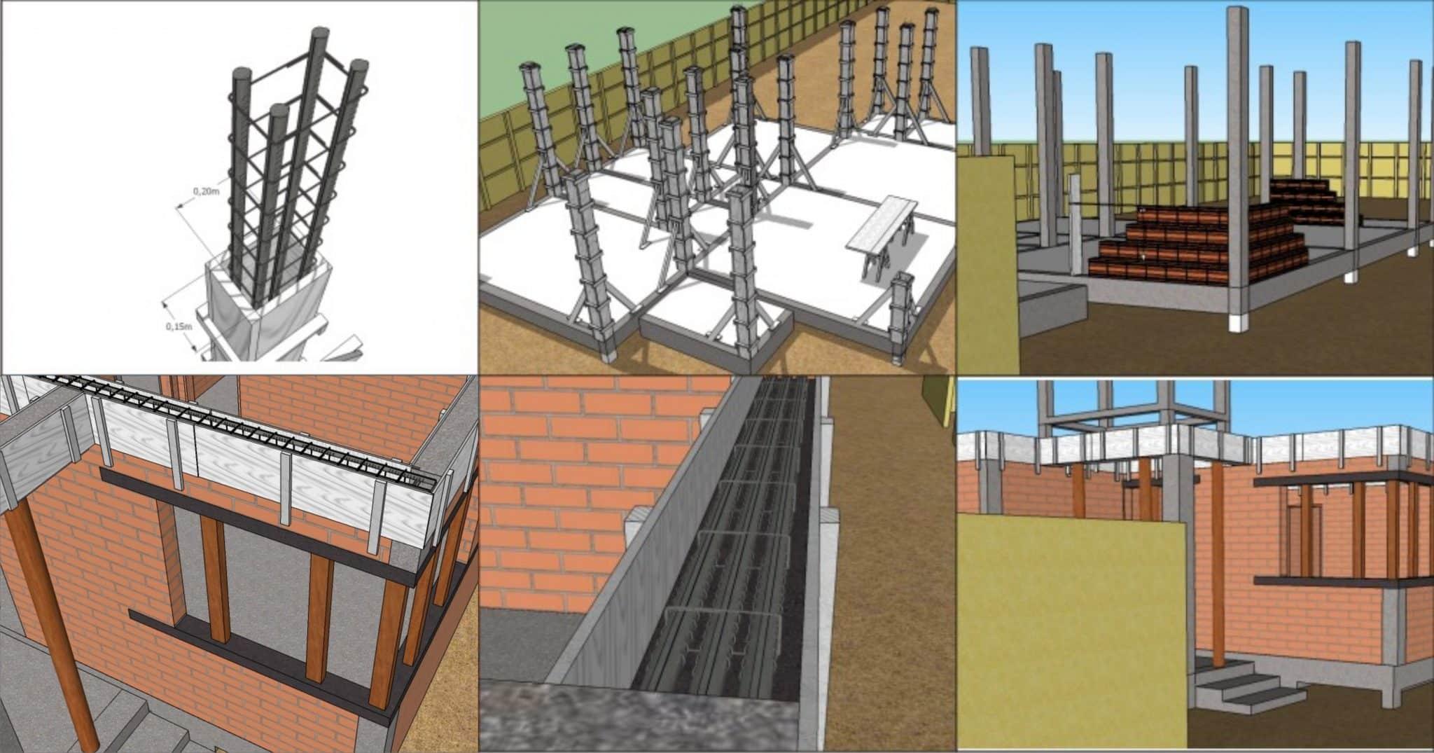 Conheça as 10 Etapas de uma Obra Blog de Arquitetura é A Arquiteta  #0F7CBC 5822x3057