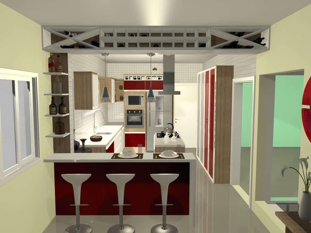 Cozinha 1 - Trabalhos de Promob