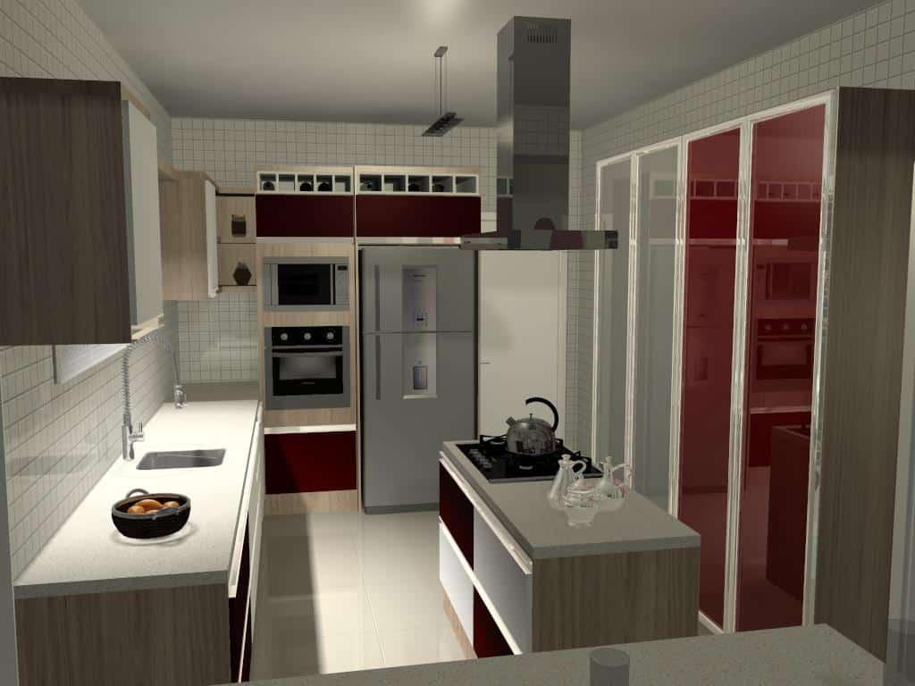 Cozinha 3 - Trabalhos de Promob
