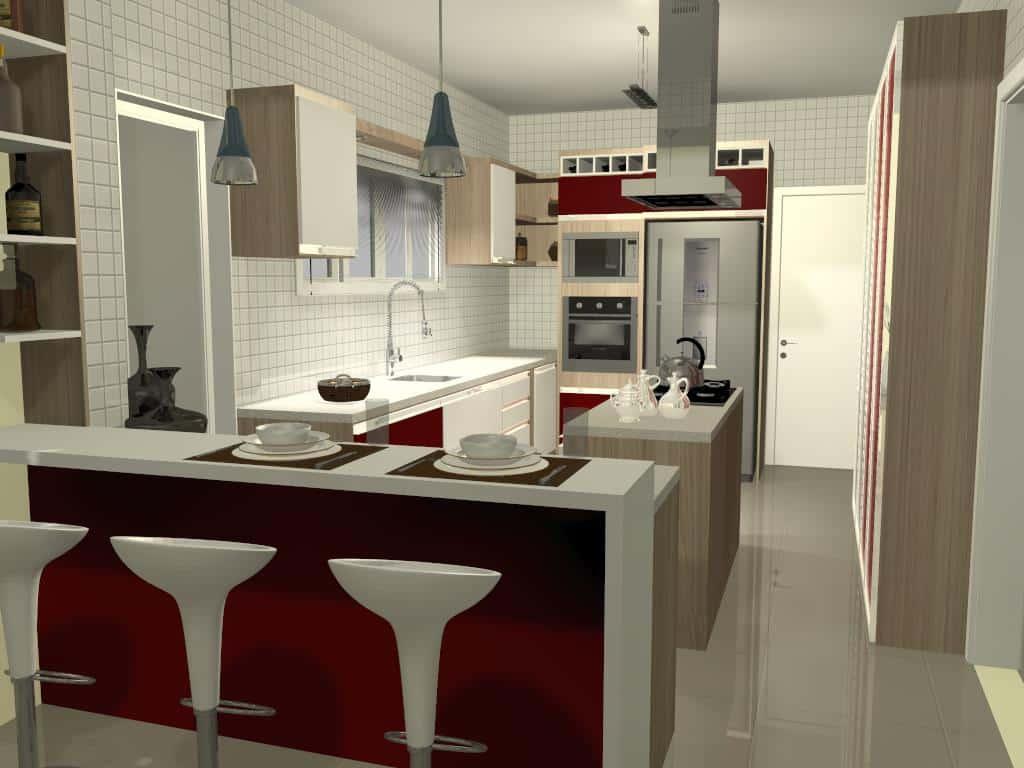 Cozinha 5 - Trabalhos de Promob
