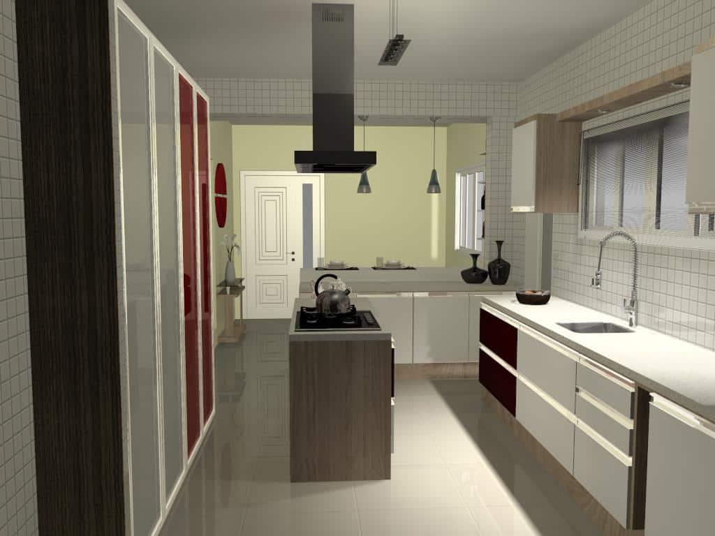 Cozinha 6 - Trabalhos de Promob