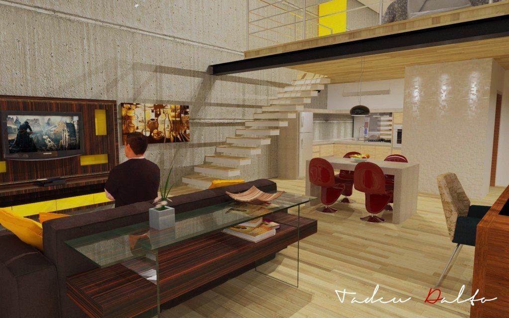 Trabalho de Sketchup+Vray de Tadeu Matheus Dalto