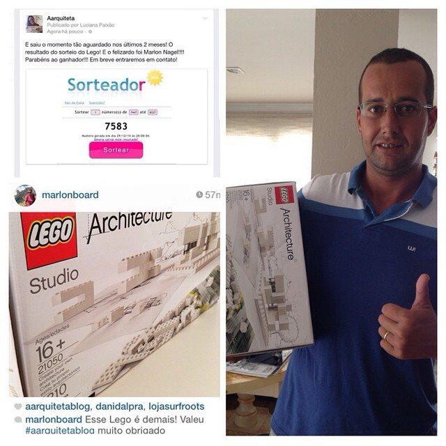 Lego Arcteture Aarquiteta Ganhador