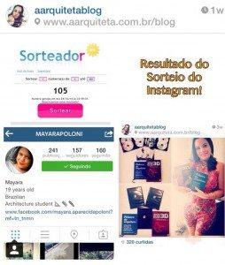 sorteio instagram 1