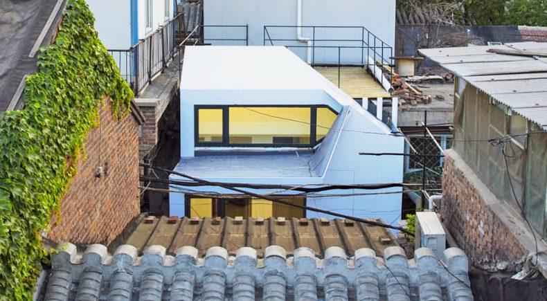 casa 03 1020x610 790x435 - Uma casa barata construída em um dia usando apenas uma ferramenta.