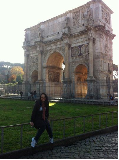 Arquietetura neoclassica Arco de Constantino