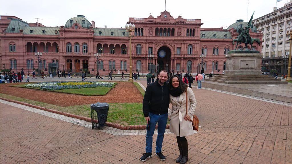 Sede da Casa do Governo Argentino