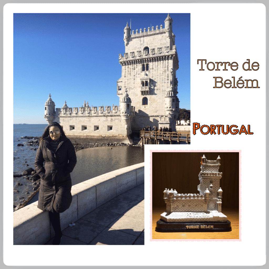 Foto da torre de Belem em Portugal