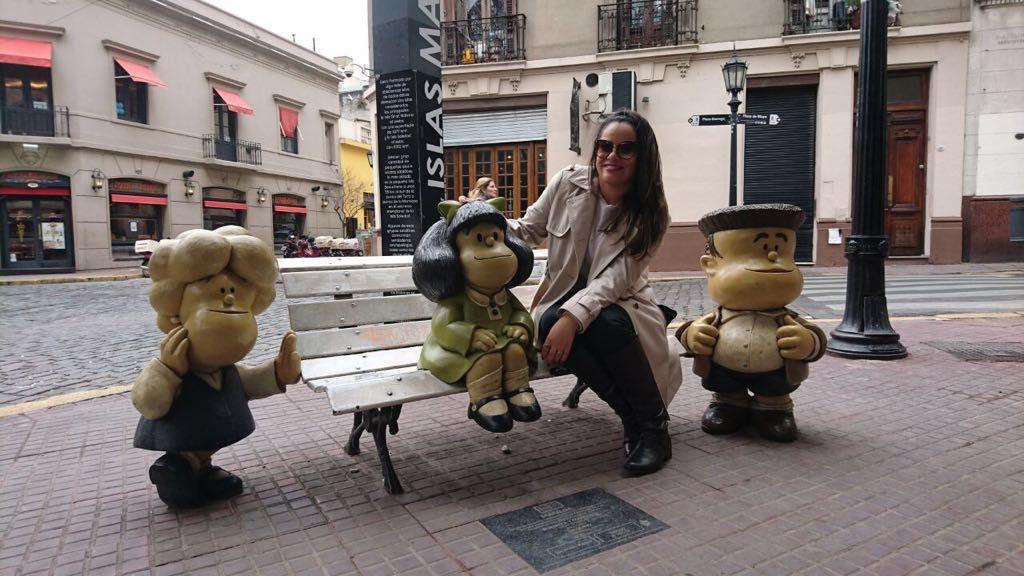 Encontre Mafalda em San Telmo