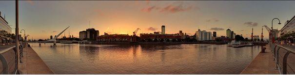 Vista panoramica de porto madeiro pelo arquiteto Martin St-Amant (S23678)