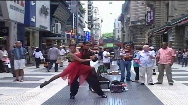 rua Florida em Buenos Aires