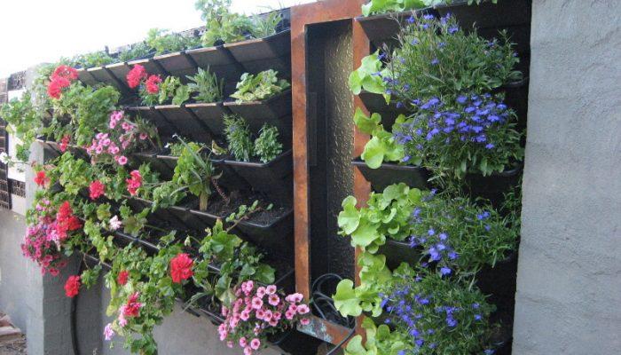 jardim vertical 02 700x400 - Como criar e cuidar de um jardim vertical