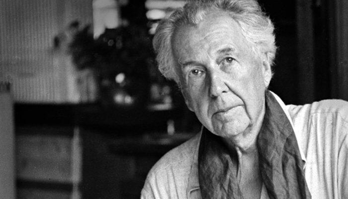 foto do arquiteto Frank Lloyd Wright