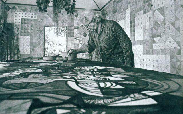foto do arquiteto Roberto Burle Marx