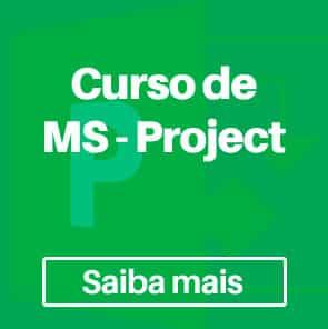 curso ms project - A importância do MS Project na área das engenharias
