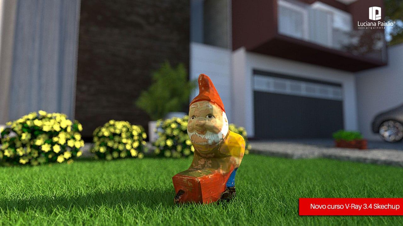 gnomo jardim - 10 dicas para melhorar o seu render