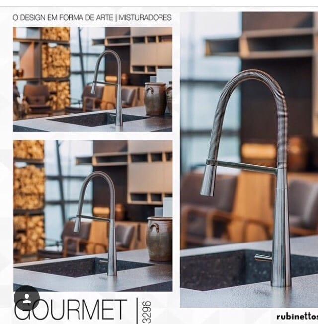 torneira gourmet rubinettes 3296
