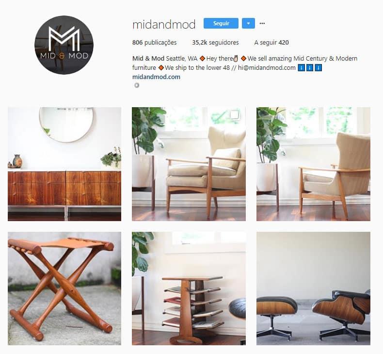 mobiliario em madeira