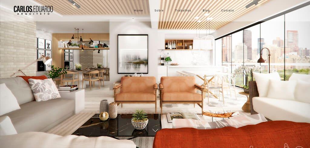 carlos eduardo arquiteto - Site profissional para Arquitetos: Saiba como ter o seu.
