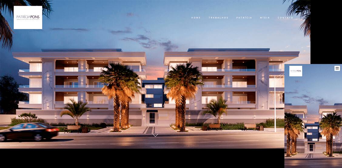 patricia pons alboom prosite by aarquiteta - Site profissional para Arquitetos: Saiba como ter o seu.