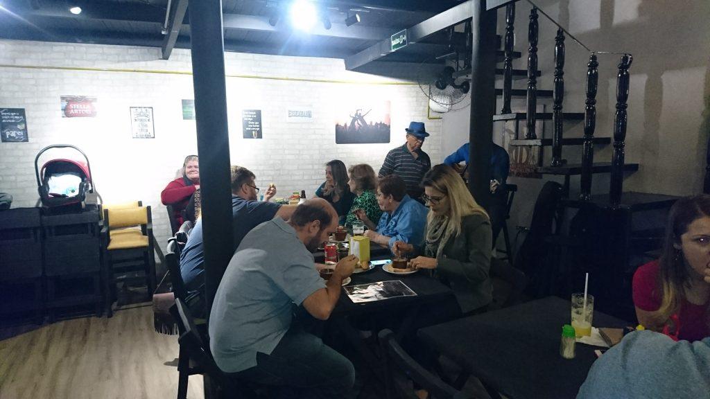 projeto de reforma de bar inauguracao