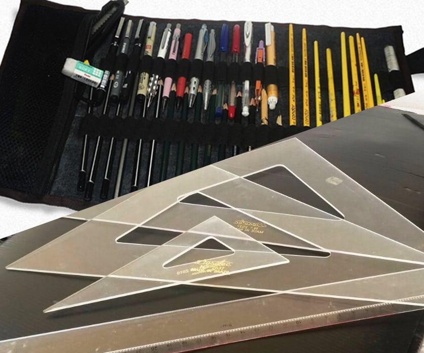 Dicas de materiais para arquitetura desenho técnico