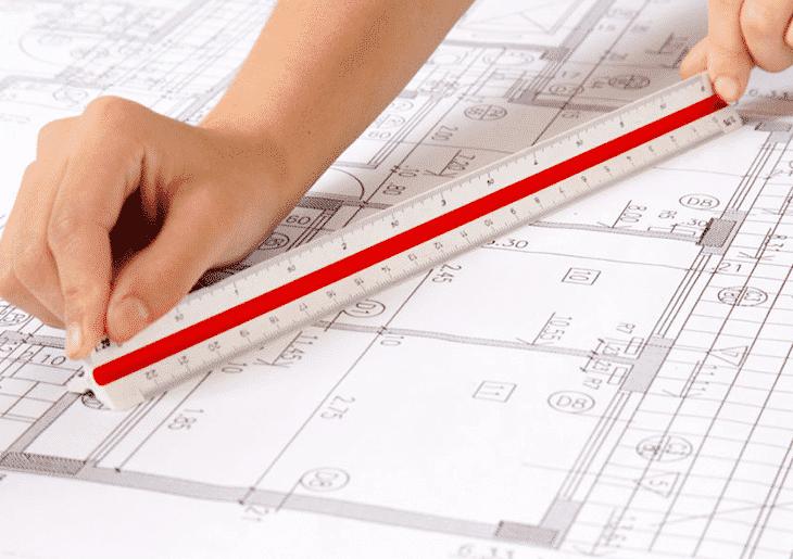 Escalímetro - Materiais para arquitetura