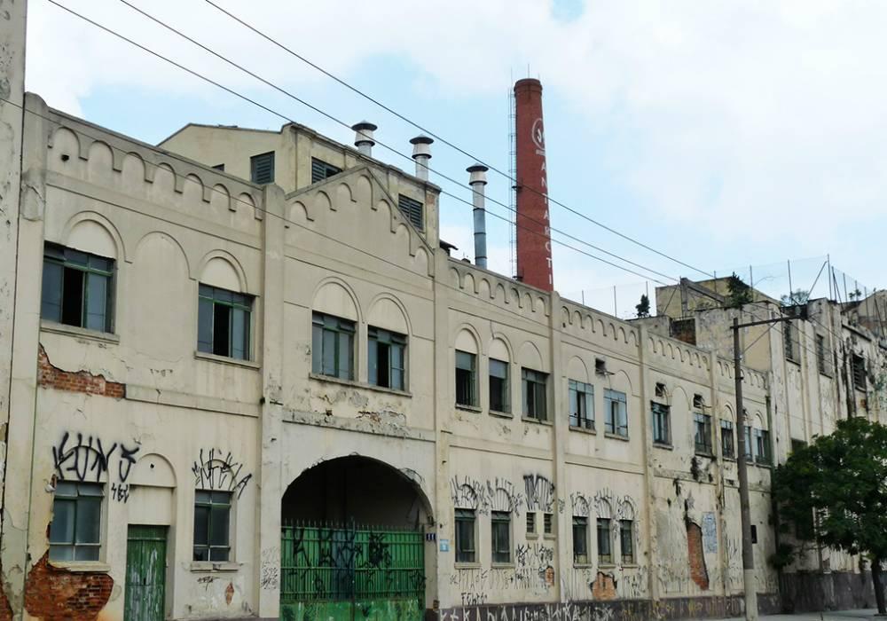 Antiga fábrica da Companhia Antarctica Paulista