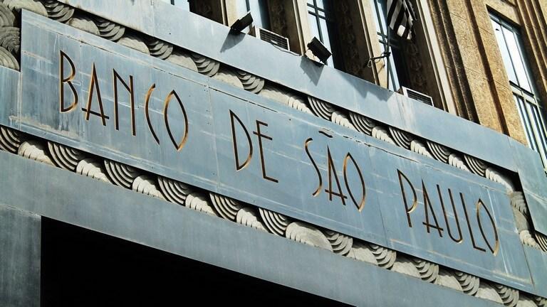 Fachada banco de São Paulo