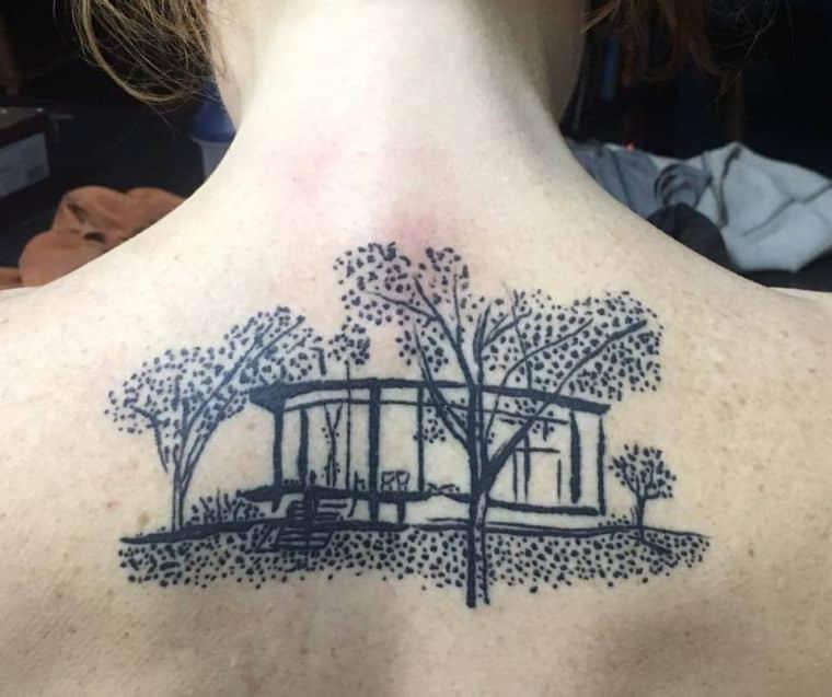 tatuagens de arquitetura