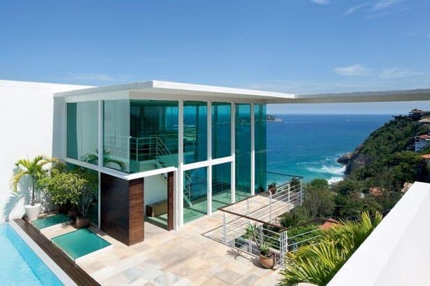 casa de praia arquiteta 1 - Projetos de Casas de Praia: inspire-se