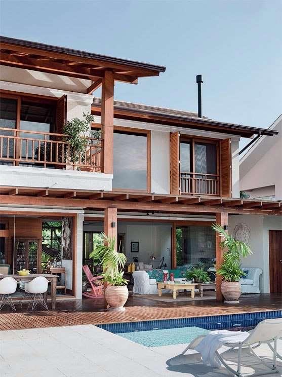 casa de praia arquiteta 6 - Projetos de Casas de Praia: inspire-se