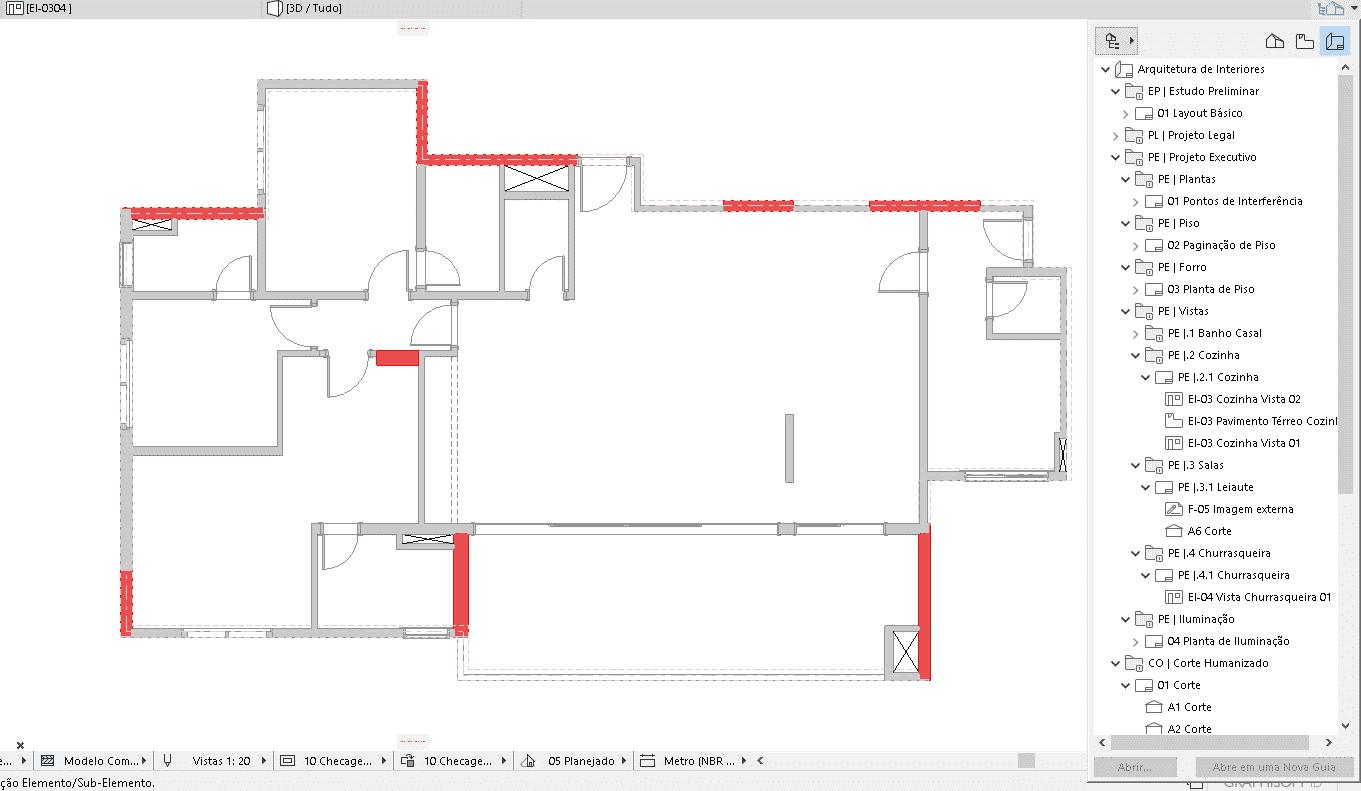 navegador de projetoss - Porque escolhi oArchiCADcomo meu programa BIM