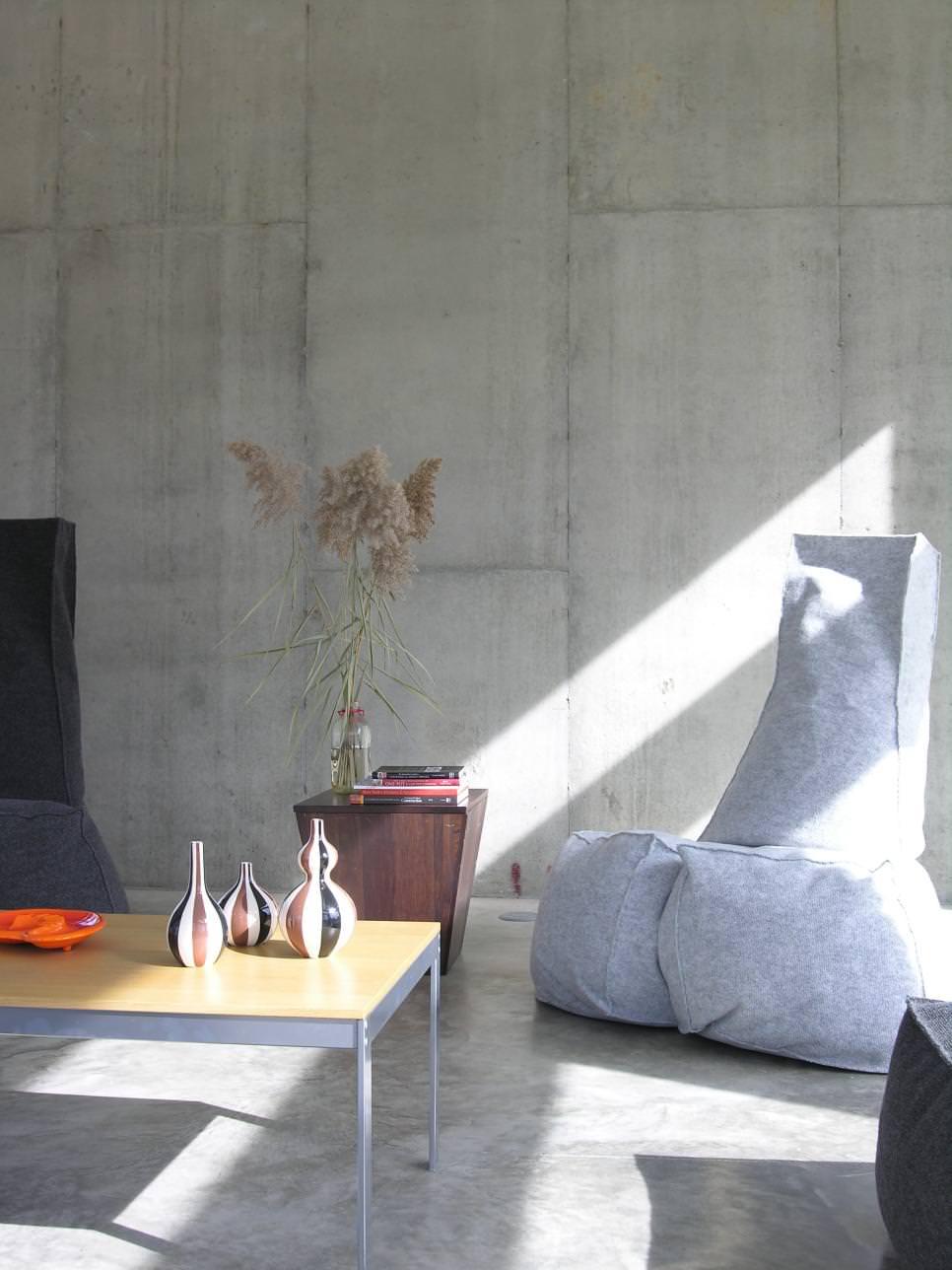 concreto na decoracao arquiteta 7 - A tendência do concreto na decoração
