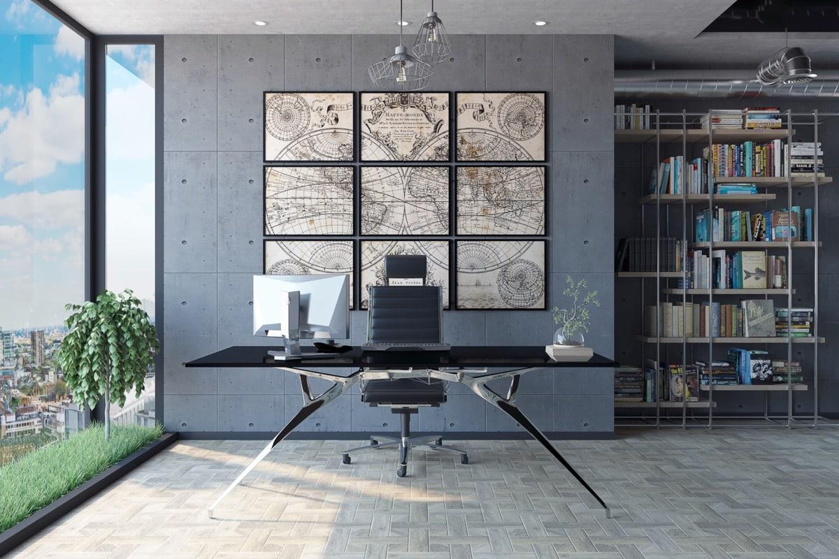 decorar escritório arquiteta 8 - 4 ideias para decorar o escritório + exemplos