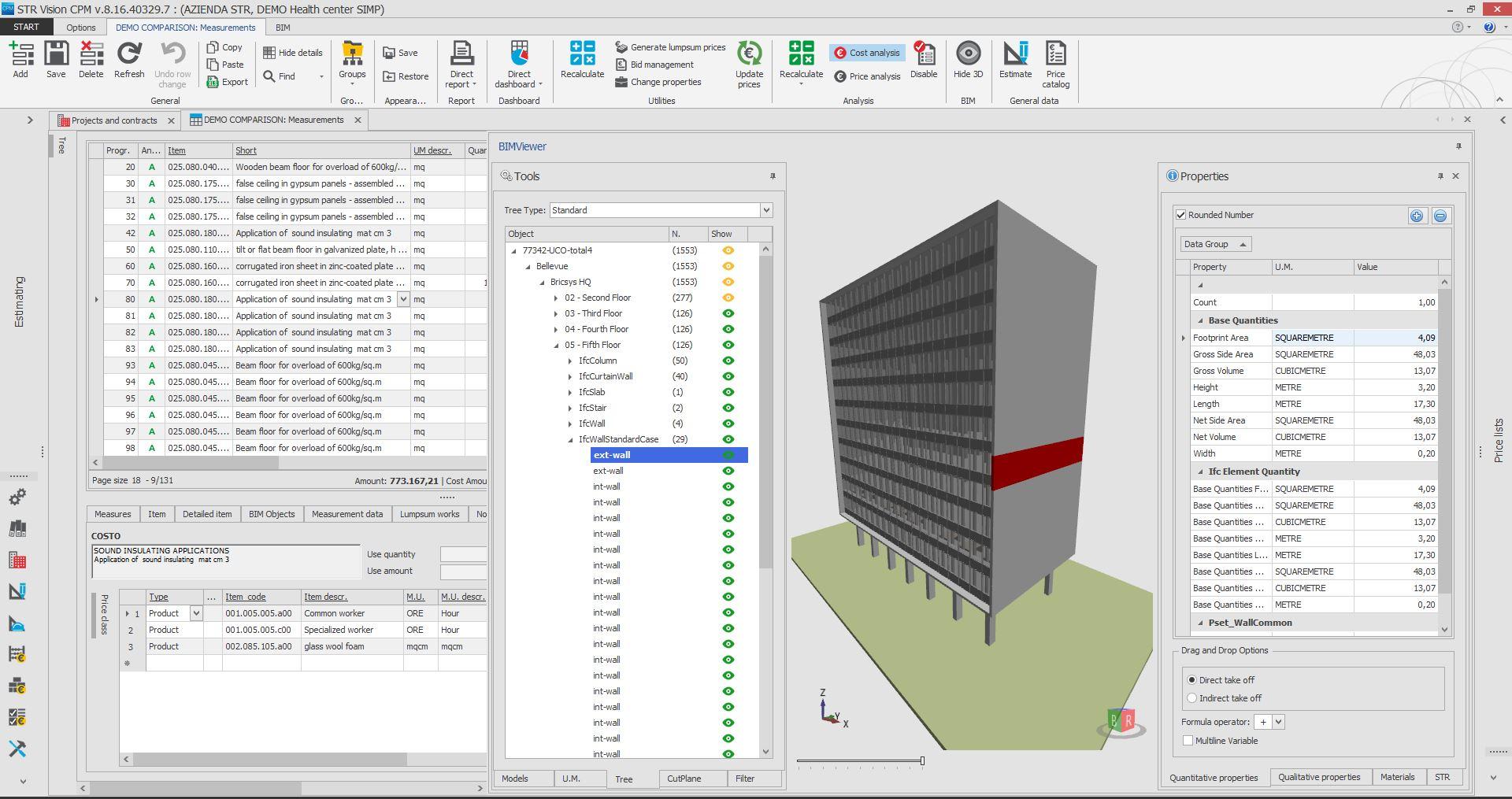 orçamento obras BIM a arquiteta 6 - Como fazer um orçamento de obras em modelos BIM?