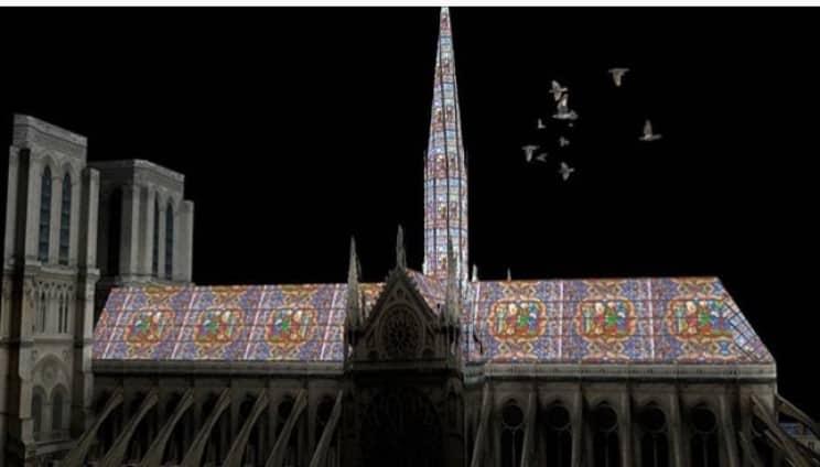 reconstrucao notre dame arquiteta 3 - 8 ideias de reconstrução de Notre Dame