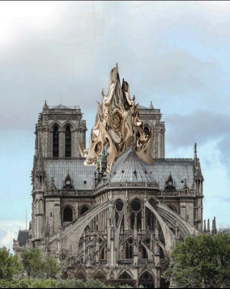 reconstrucao notre dame arquiteta 4 - 8 ideias de reconstrução de Notre Dame