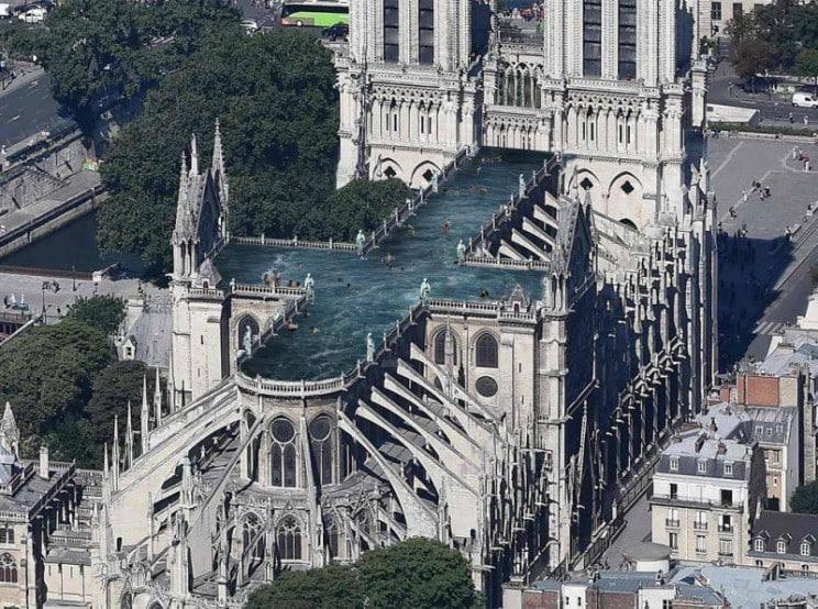 reconstrucao notre dame arquiteta 5 - 8 ideias de reconstrução de Notre Dame