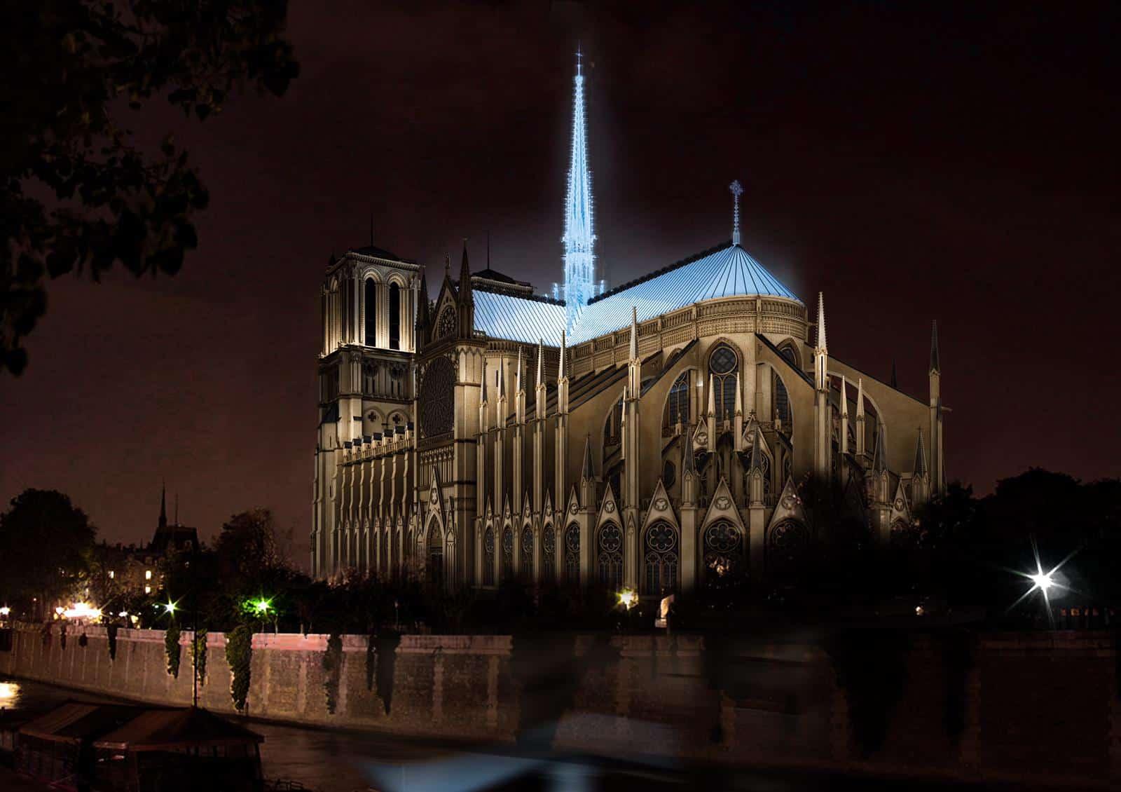 reconstrucao notre dame arquiteta 8 - 8 ideias de reconstrução de Notre Dame