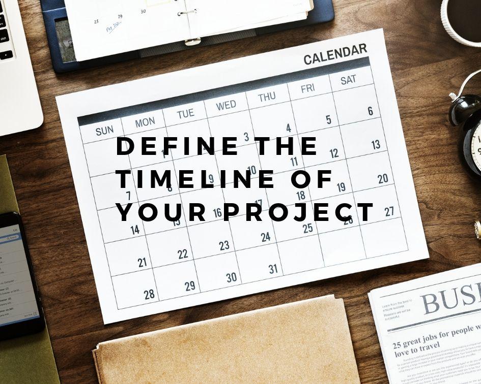 Definição e tempo de projeto