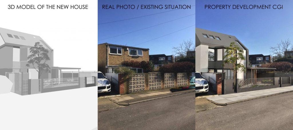 """fotocasa 3d fotocasa fotorreal - Qual a diferença entre """"Visualização Arquitetônica"""" e """"Ilustração Arquitetônica""""?"""