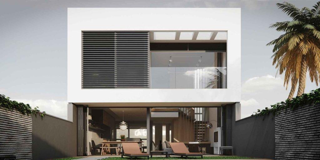 Ilustração casa em 3D