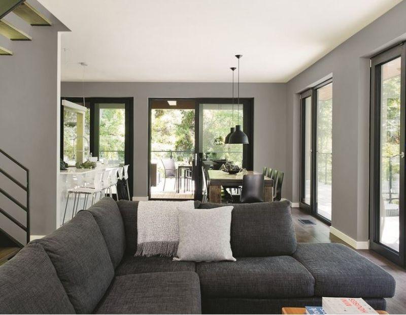 sala cinza com teto branco - Os 10 Mandamentos da Pintura