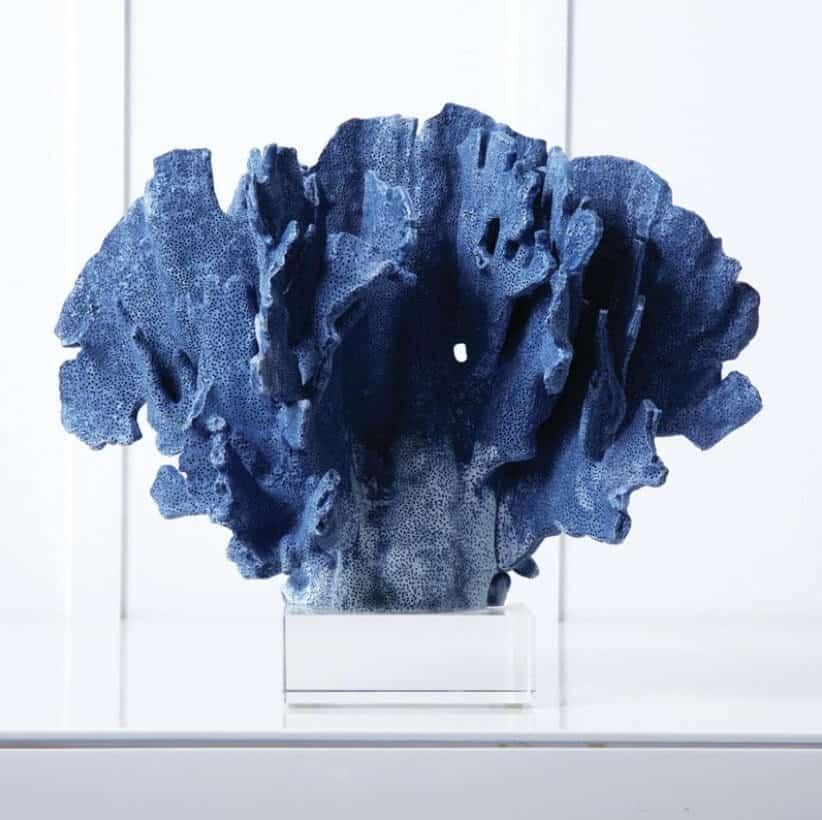 coral azul - Pensar zen é pensar em cores neutras? Experimente estes estilos Zen coloridos