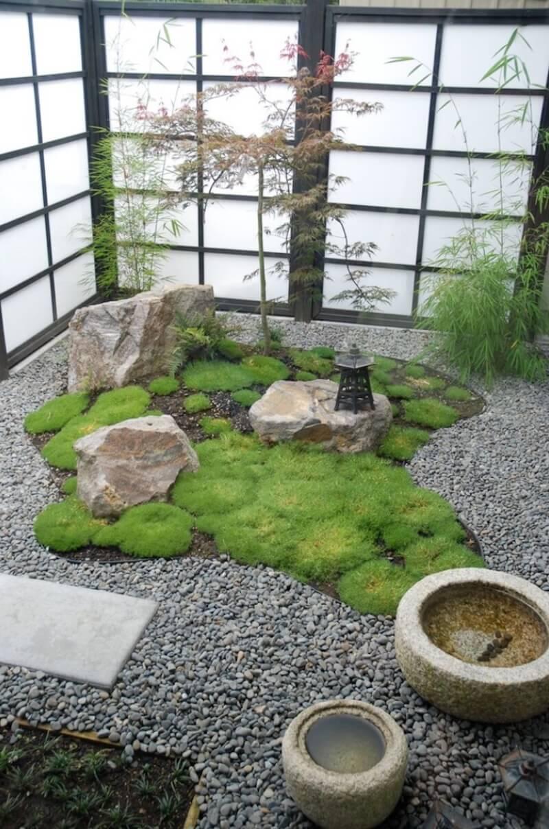 Jardim de inverno.