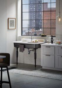 pia farmstead 211x300 - Pias de cozinha: Como escolher o melhor estilo para suas necessidades