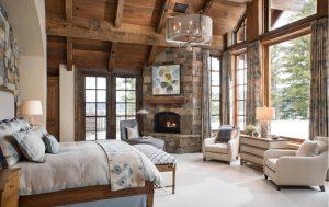 quarto rústico com duas poltronas brancas 300x189 - Qual é o seu estilo de Design de Interiores?