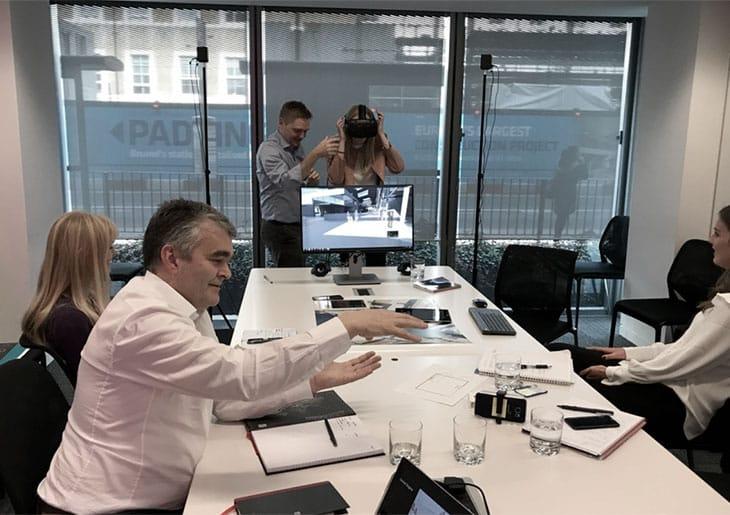 Reunião com experiência VR - Quais os benefícios para Arquitetos e clientes com a tecnologia de Realidade Virtual.